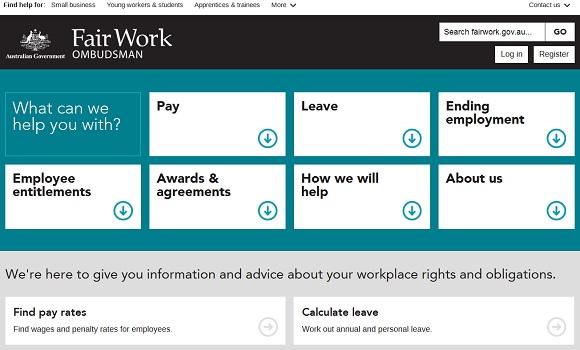 fair work ombudsman australia
